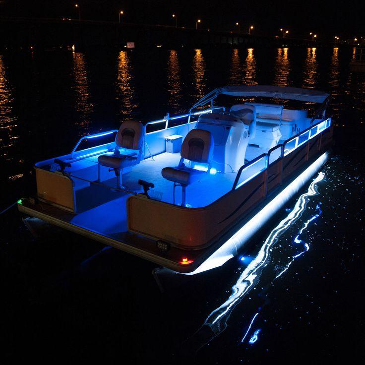 Overtons 24 Flex Track LED Light Kit For Pontoon Boats - Overton's