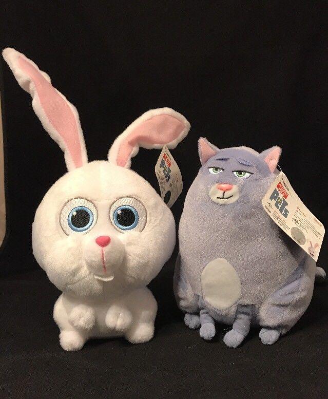 The Secret Life Of Pets Chloe Cat Snowball Bunny Plush Lot 9