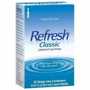 #onsale #Refresh® #Classic Lubricant Eye Drops instantly moisturizes and relieves dry, irritated eyes with our original formula for sensitive eyes.