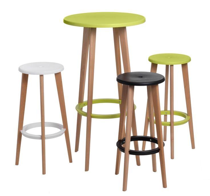 Zielony stolik barowy Lush #table #coffee #coffeetable #home #modern #design #homedecor #homedesign #furniture #wood