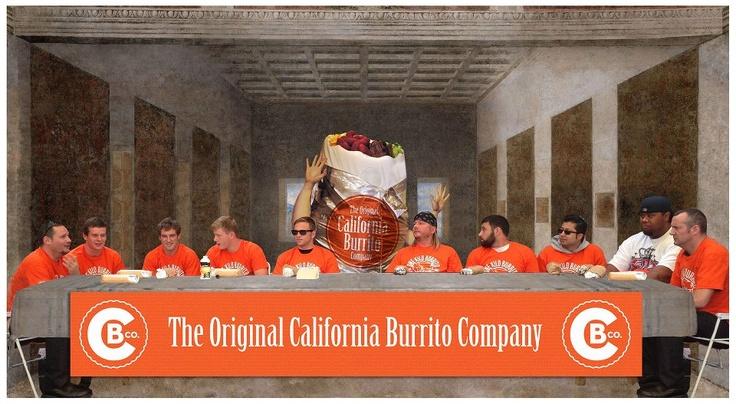 The 1 kilo Burrito Comp - in full motion