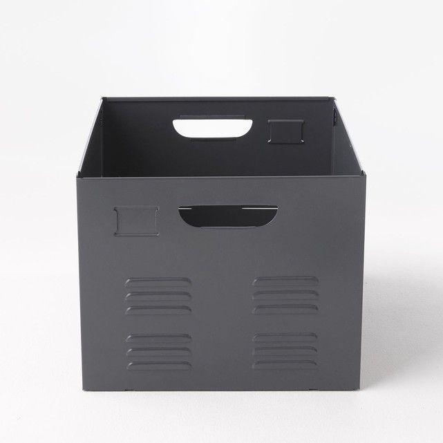 Caisse En Metal Hiba Casier Rangement Caisse Rangement Rangement Metal