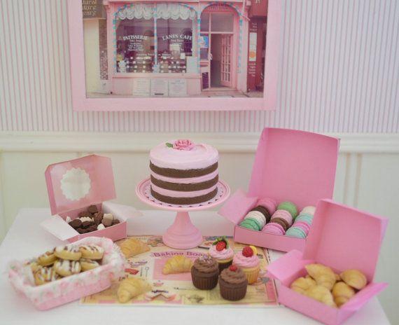 Sweet Petite Play Scale Patisserie Cake Set by SweetPetiteShoppe