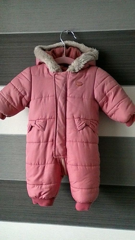 2c2f474d3 Mayoral Baby Girls Pink Snow Suit Newborn 0m Height 55cm #Mayoral #Snowsuit