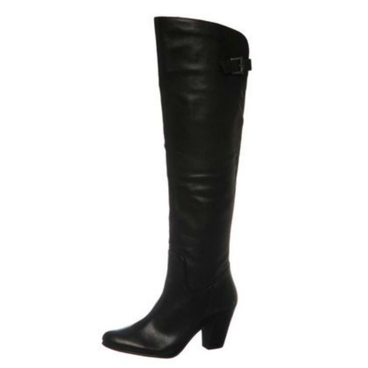Knee-high Ladies' Leather Boots by Bronx #Bronx #FashionKneeHigh