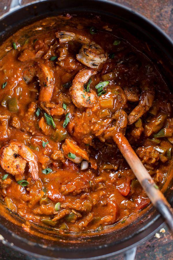 Big Easy Style Saucy Creole Shrimp | halfbakedharvest.com @hbharvest