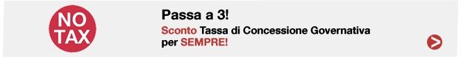 … Promo NO TAX anche con TOP Sim! Passa a 3 col tuo numero e la TCG te la paga 3 per sempre! Da 15€/mese http://ht.ly/bX7tc