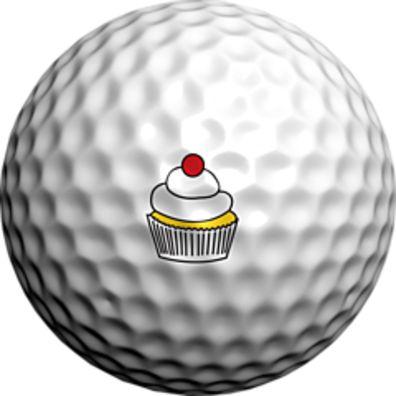 Logo Golf Ball The Cub Cake by Adamo Golf on Opensky