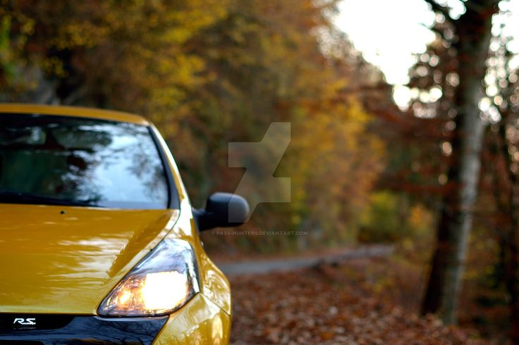 Renault Clio 3 RS in autumn by pass-hunters