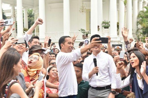 """""""Sumpah Abadi"""" Jokowi di Momen Sumpah Pemuda"""