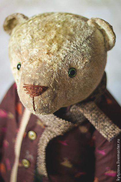 Мишки Тедди ручной работы. Ярмарка Мастеров - ручная работа Миша-серьёзный. Handmade.
