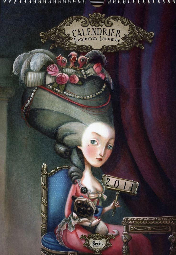 art by benjamin lacombe   Alice in Wonderland: Art Monday is Benjamin Lacombe