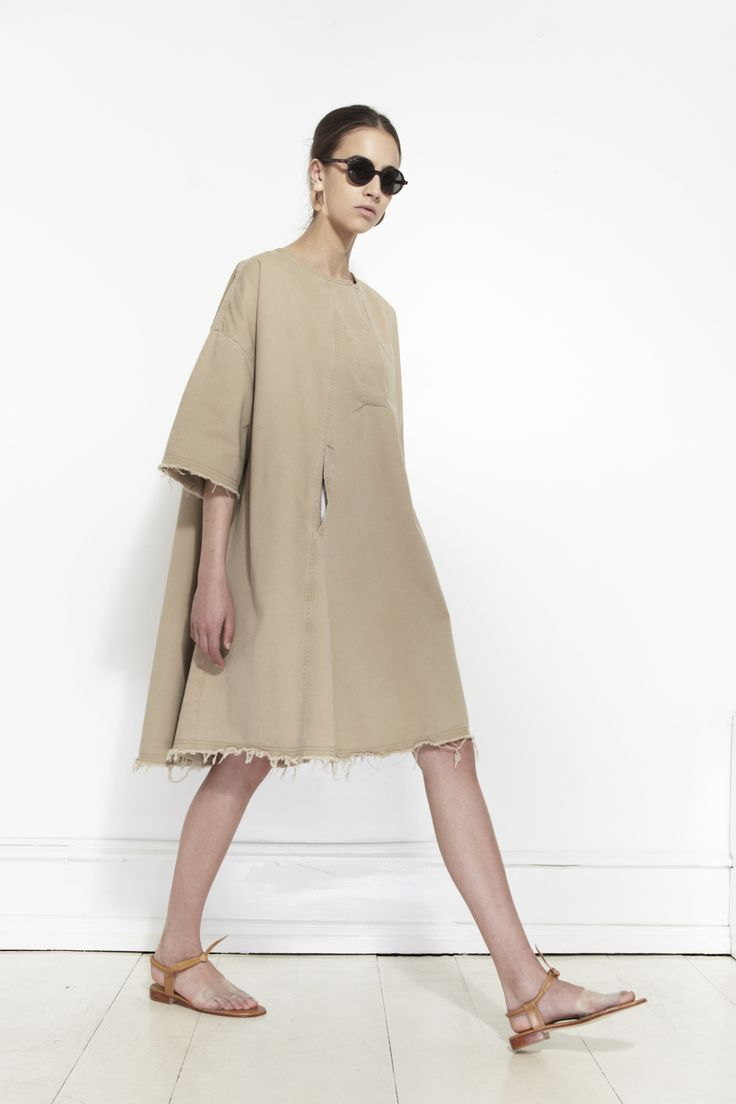 RACHEL COMEY, Copa Dress, Sand | Mr. Larkin