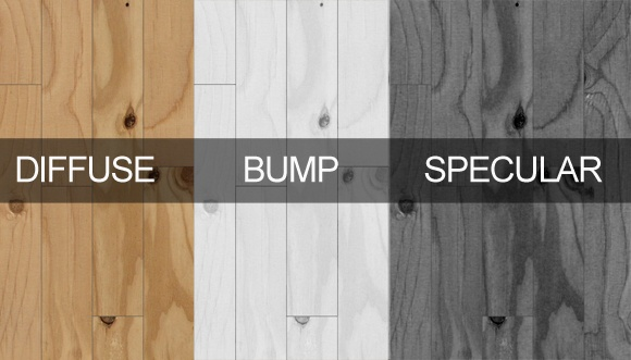 Free High Resolution Wood Texture & Vray Material