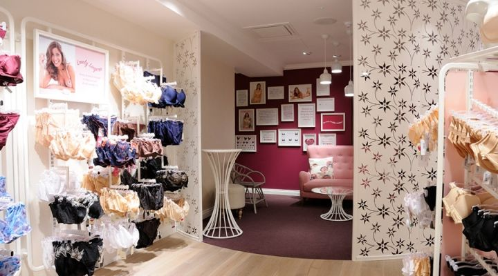 Bravissimo Two-level Lingerie store design by Four-by-Two ...
