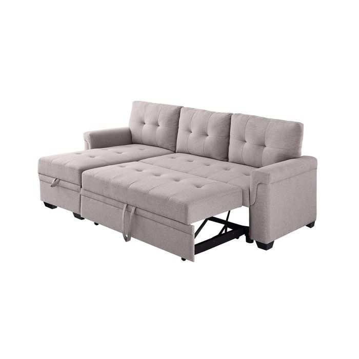 Platte Right Hand Facing Sleeper Sectional In 2020 Sleeper Sectional Sectional Sectional Sofa