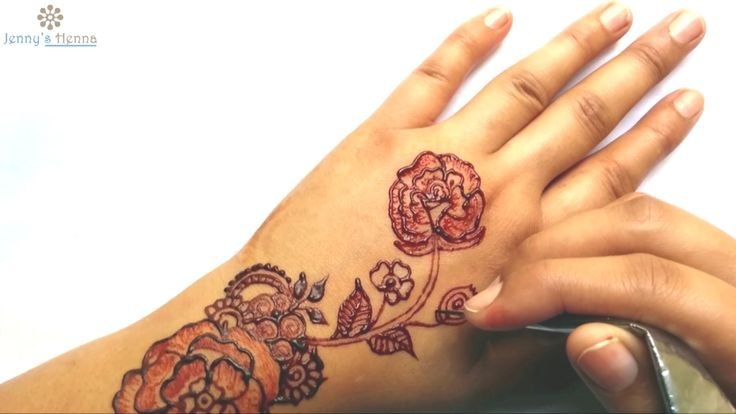 Please Subscribe to our channel for more good stuff. How to Apply Roses Henna Beautiful Leaves Mehndi About Jenny's Henna : Jenny's Henna is a platform for t...