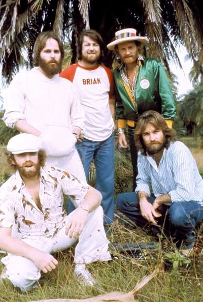 .....THE BEACH BOYS ....   .Brian Wilson ..... Dennis Wilson .....   .Carl Wilson .... .Mike Love ..... Al Jardine