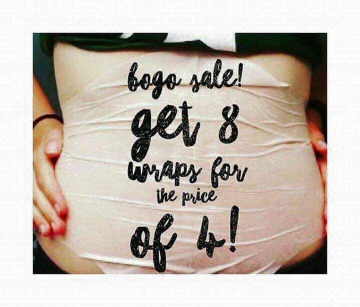 BOGO WRAPS WERE EXTENDED TILL TUESDAY AT MIDNIGHT!!! Buy one box of wraps for $59 as a Loyal Customer and get the 2nd box FREE!! WHO WANTS A FREE BOX OF WRAPS?!?!