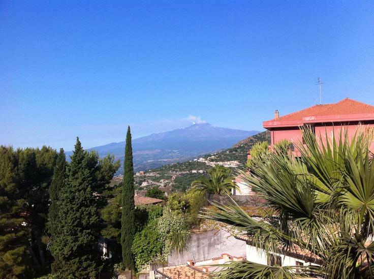 Mount Etna. Sicily.