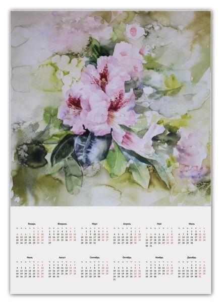 "Календарь А2 ""Азалия"" от theirenemen"