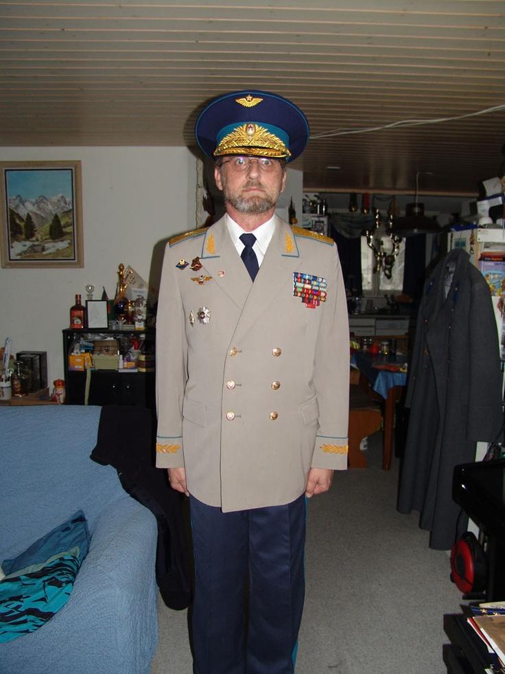 Soviet Air Force Major-General's summer walking out uniform.