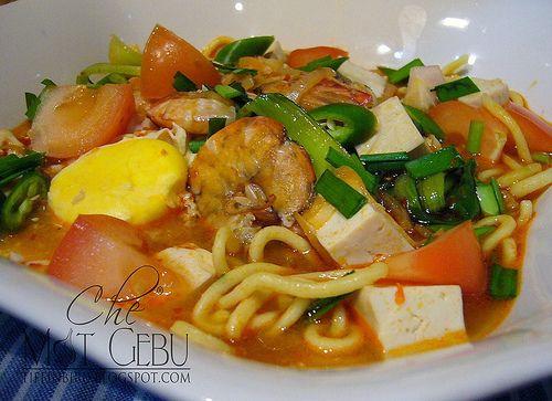 Resepi Mi Kuah Udang....cepat masak punya!