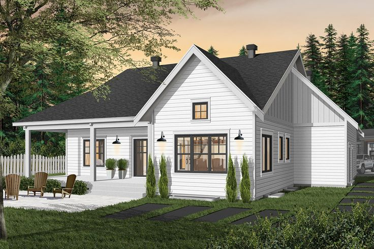 Farmhouse Style House Plan 2 Beds 1 5 Baths 1556 Sq Ft Plan 23 2679 Farmhouse Style House Farmhouse Style House Plans Traditional House Plans Home plans with simple roof lines