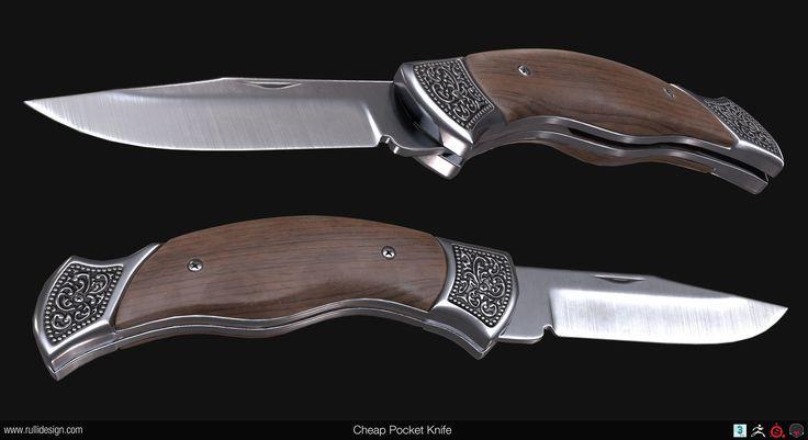 ArtStation - Cheap Pocket Knife, Nate Rulli