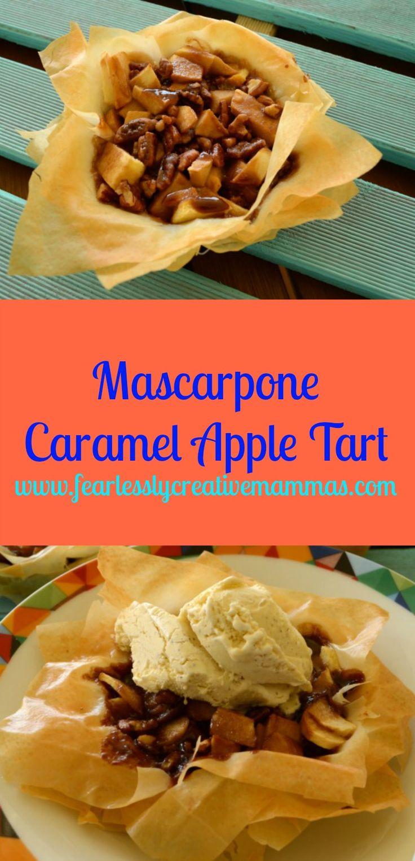 Mascarpone Caramel Apple Tart