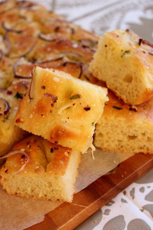 Wicked sweet kitchen: Herkullinen italialainen focaccia