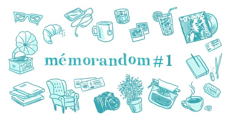Cette semaine, nous ouvrons notre nouvelle rubrique Mémorandom. Tous les vendredis, un-e membre de l'équipe te donnera des idées pour que tu profites au...