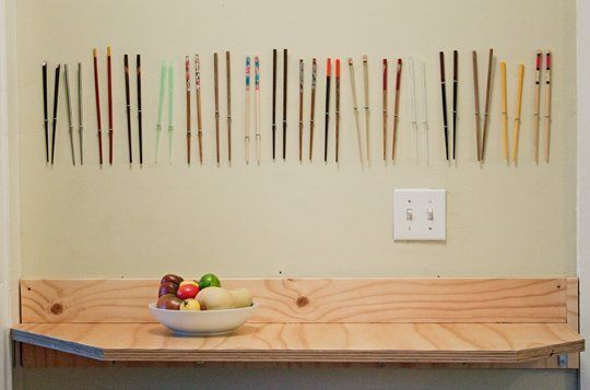 Why I Use Chopsticks to Do Almost Everything in the Kitchen - also how cute is this set up?