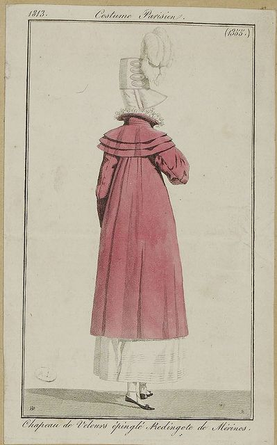Costume Parisien (1353), 1813.
