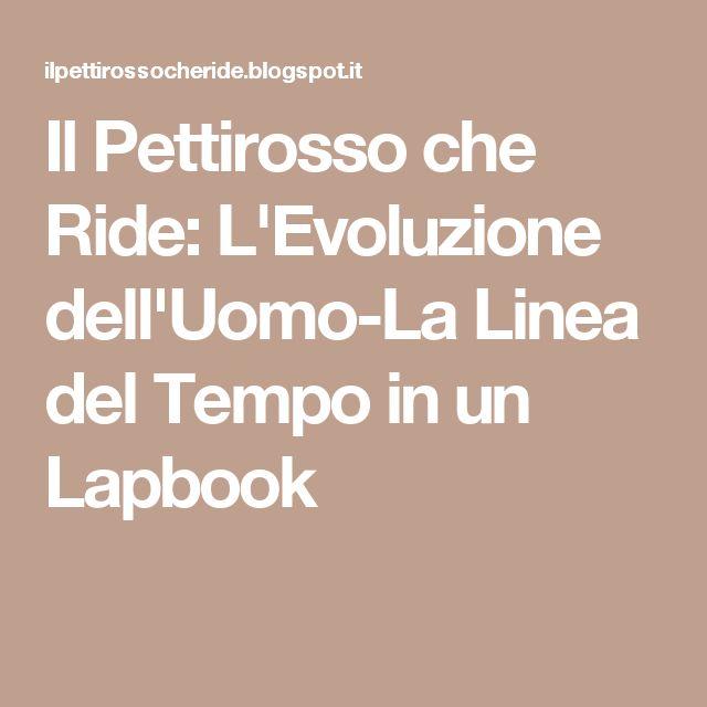 Il Pettirosso che Ride: L'Evoluzione dell'Uomo-La Linea del Tempo in un Lapbook