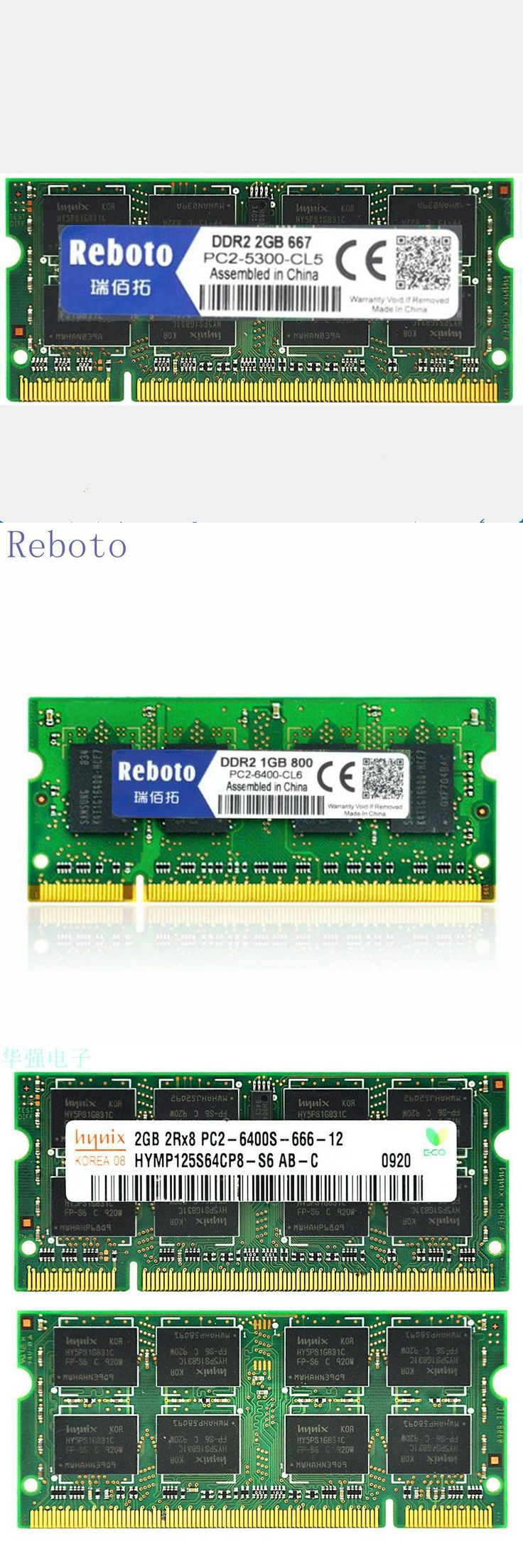 [Visit to Buy]  Reboto DDR2 1GB 2GB  4GB 667Mhz 800mhz PC2-5300 6400 memory for Laptop RAM good quality Fully compatible #Advertisement