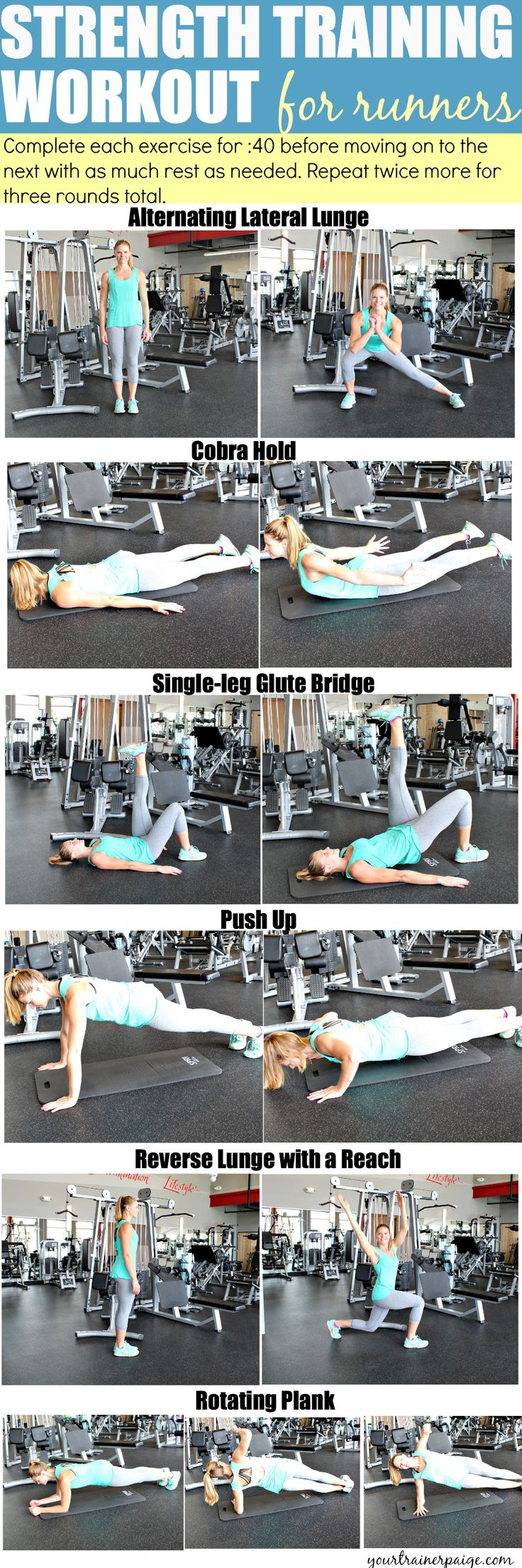 Strength Training Workout for Runners!