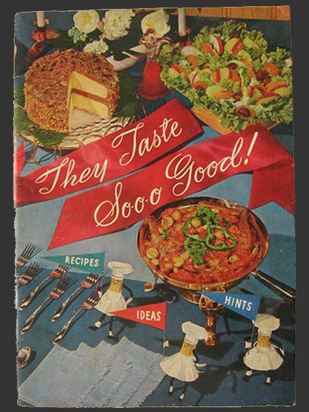 1955 Vintage Planters Peanuts Recipe Booklet