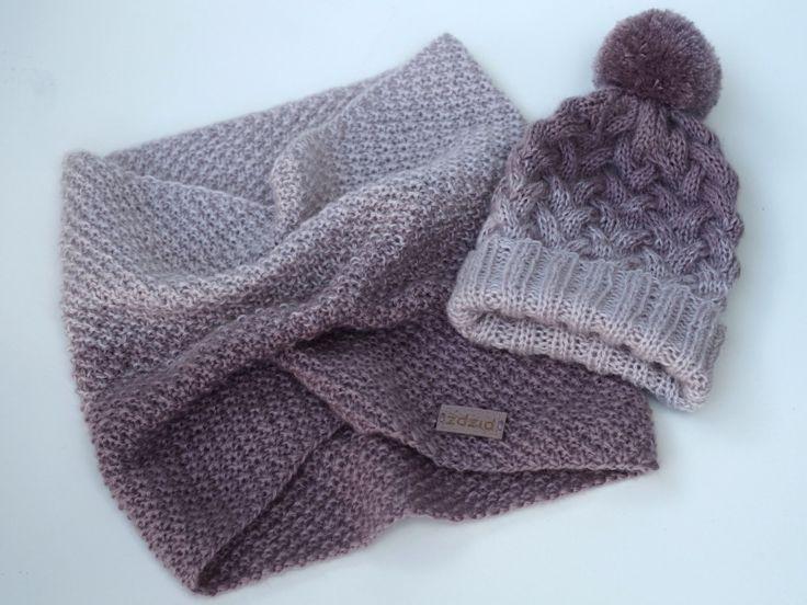 ombre, dip dye knitting