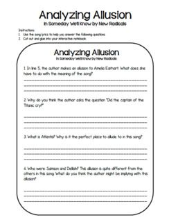 So, do YOU teach allusion? I know that the 4th and 5th grade teachers in my school do NOT teach allusion (or any figurative language actually). Allusion actually makes its first appearance in the Common Core Standards at the 4th grade level: CCSS.ELA-Literacy.RL.4.4 Determine the meaning of words and phrases as they are used in …