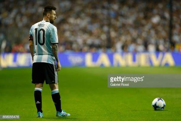 Argentina V Peru Fifa 2018 World Cup Qualifiers Lionel Messi Fifa Futbol Argentino
