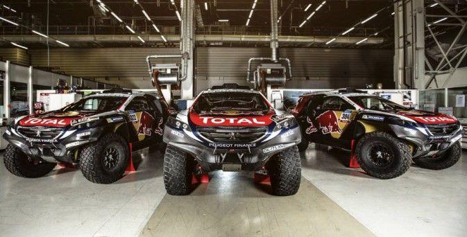 Peugeot 2008 DKR – Prête à l'attaque du Dakar ! > Constructeur : Peugeot - Supercharged à suivre !!