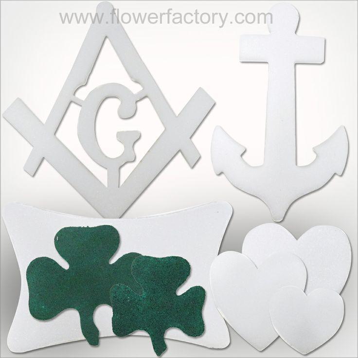 New Styrofoam Shapes Are In. Www.flowerfactory.com
