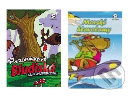 Kolekcia titulov: Rozprávkové bludiská, Morské hlavolamy (Kniha dostupná na Martinus.sk so zľavou, bežná cena 7,10 €)