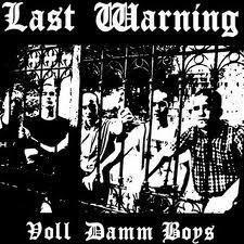 Last Warning - Voll Damn Boys LP