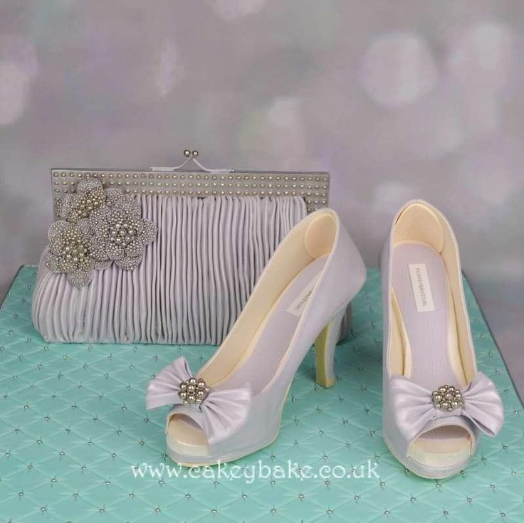 Handbag and Edible Shoes - Cake by CakeyBake (Kirsty Low)