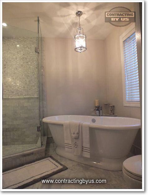 http://www.contractingbyus.com/portfolio/bathrooms/#616 #finishedbasement #interiors #interiordesign #makeover #space #renovation #bathroom #shower #tiles #ensuite #masterbathroom www.contractingbyus.com