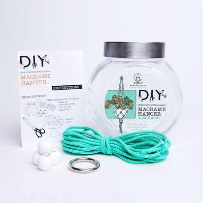 DIY Macrame Kit Mint