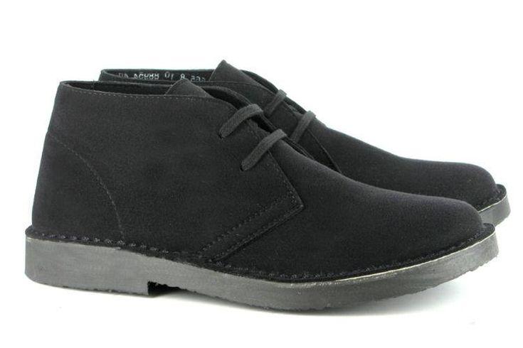 Vegetarian Shoes - Bush Boot - Black | VEGA-LIFE