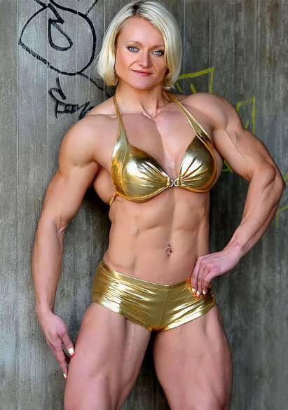 Brigita Brezovac  Muscle Girls, Bodybuilding, Athletic Women-6619